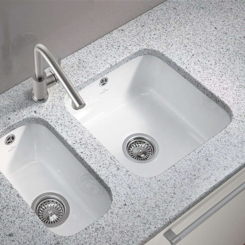 and Boch Cisterna 50 Undermount Ceramic Kitchen Sink